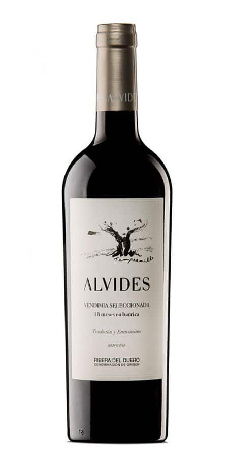 Foto botella Alvides-vendimia-seleccionada