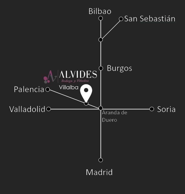 Mapa localización Alvides